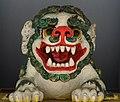 Snow Lion in Seattle Tibetan Monastery (cropped).jpg