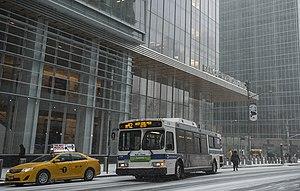 Bank of America Tower (Manhattan) - Street level, January 2014