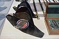 Snutehatter til gallauniform for embetsmann og politibetjent 1854-1908 (Norwegian Officials and Police parade uniform bicorne hats) Justismuseet (National Museum of Justice) Trondheim Norway 2019 Filt Kokarde 03073.jpg