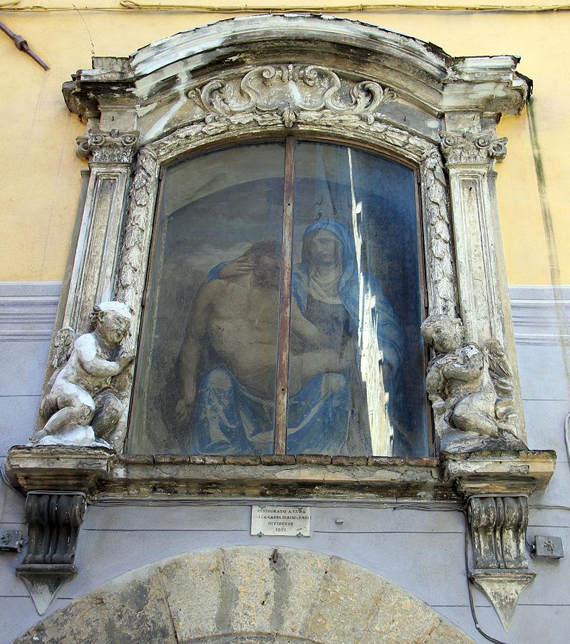 Sodoma, tabernacolo della madonna del corvo, 03.JPG