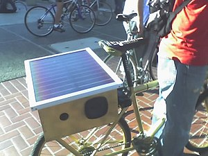Solar-powered radio - Image: Solar radio 2