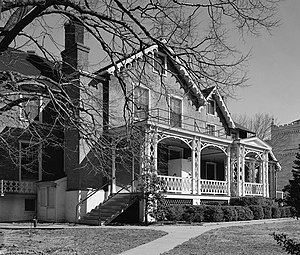 President Lincoln's Cottage at the Soldiers' Home - Lincoln Cottage, February 1975