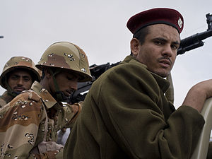 Republic of Yemen Armed Forces - Yemeni soldiers, August 2011