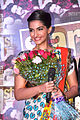 Sonam Kapoor at the launch of Star Week magazine's anniversary cover.jpg
