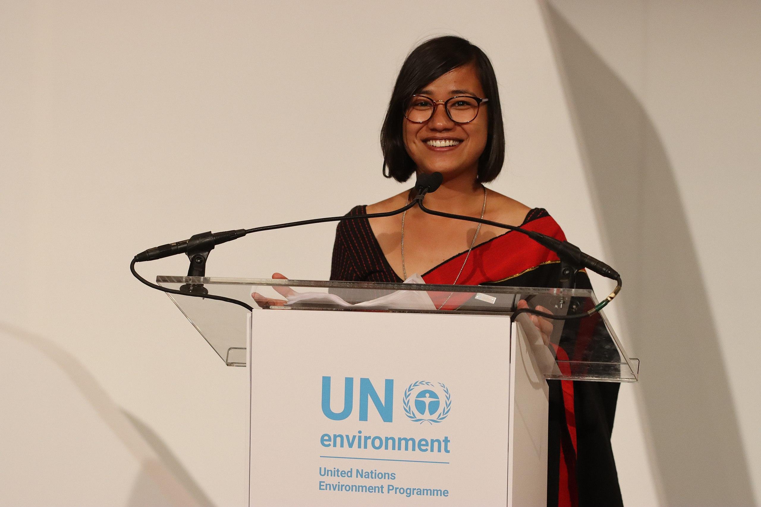 Sonika Manandhar UN Award Speech