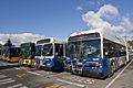 Sound Transit Express and King County Metro buses (14845443314).jpg