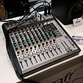 Soundcraft Signature 12 MTK analog mixer with 14in 12out audio interface - 2016 Gakki Fair (2016-11-04 by Kazuhisa OTSUBO).jpg