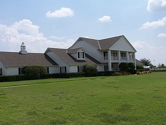 Dallas (1978 TV series) - The Southfork Ranch, home of the Ewing family