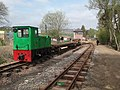South Tynedale Railway near Slaggyford station May 2017.jpg