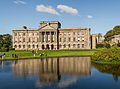 South facade of Lyme Park House panorama, 2013.jpg