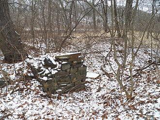 Hooks Mills, West Virginia - Remains of Hook's Mill