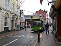 Southern Vectis 3329 HW54 DCE and Cowes High Street.JPG