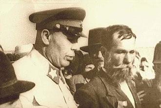Soviet occupation of Bessarabia and Northern Bukovina - Soviet Marshal Semyon Timoshenko in Bessarabia