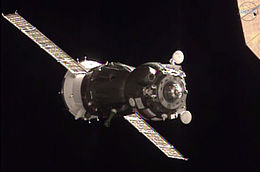 Soyuz TMA-19M spacecraft approaches the ISS.jpg