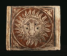 Spanish - Ceiling Tile with a Lion's Head - Walters 4821065.jpg