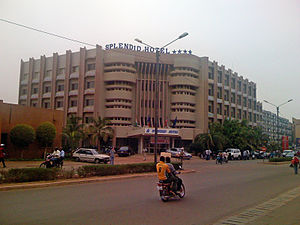 2016 Ouagadougou attacks - The Splendid Hotel in 2008