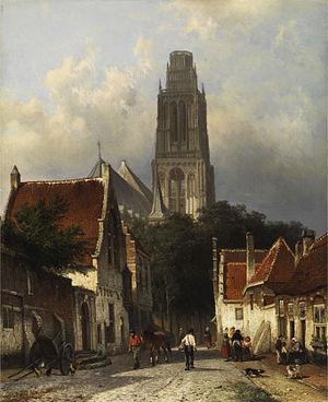 Cornelis Springer - Image: Springer Zaltbommel Sint Maartenskerk