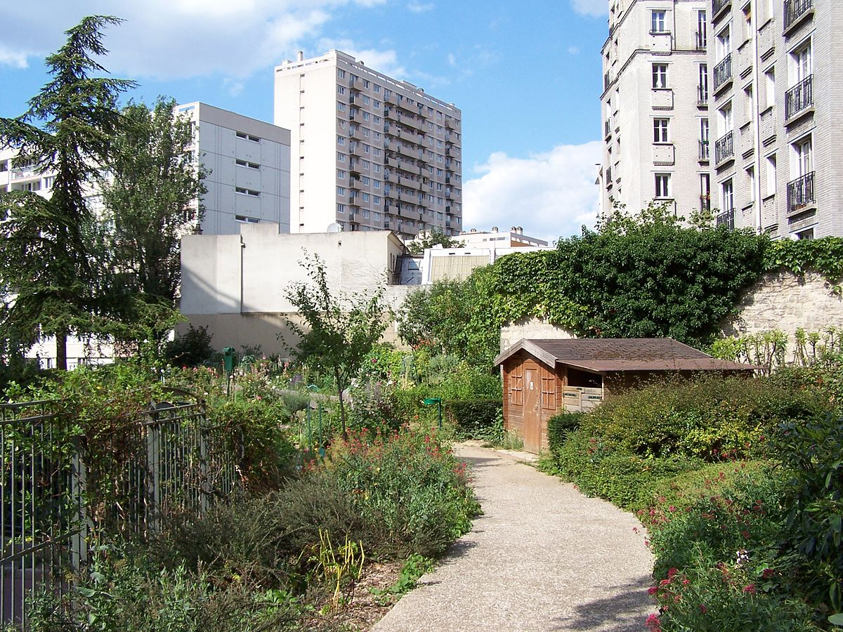 Jardin yacine kateb wikip dia for Piscine entre 2 immeubles