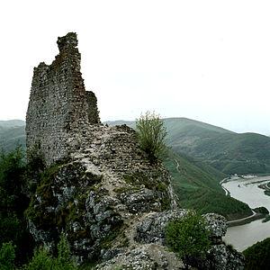 Kovin Fortress - Image: Srednjovekovni grad Kovin