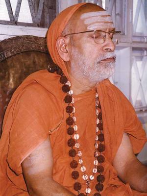 Sringeri Jagadguru Shankaracharya Sri Abhinava Vidyatheertha