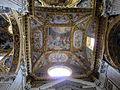 Ss. annunziata del vastato, int., volta del transetto con affreschi Giovanni Battista Carlone.JPG