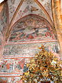St.Matthäus in Murau - Wandmalerei - Berg Tabor.jpg