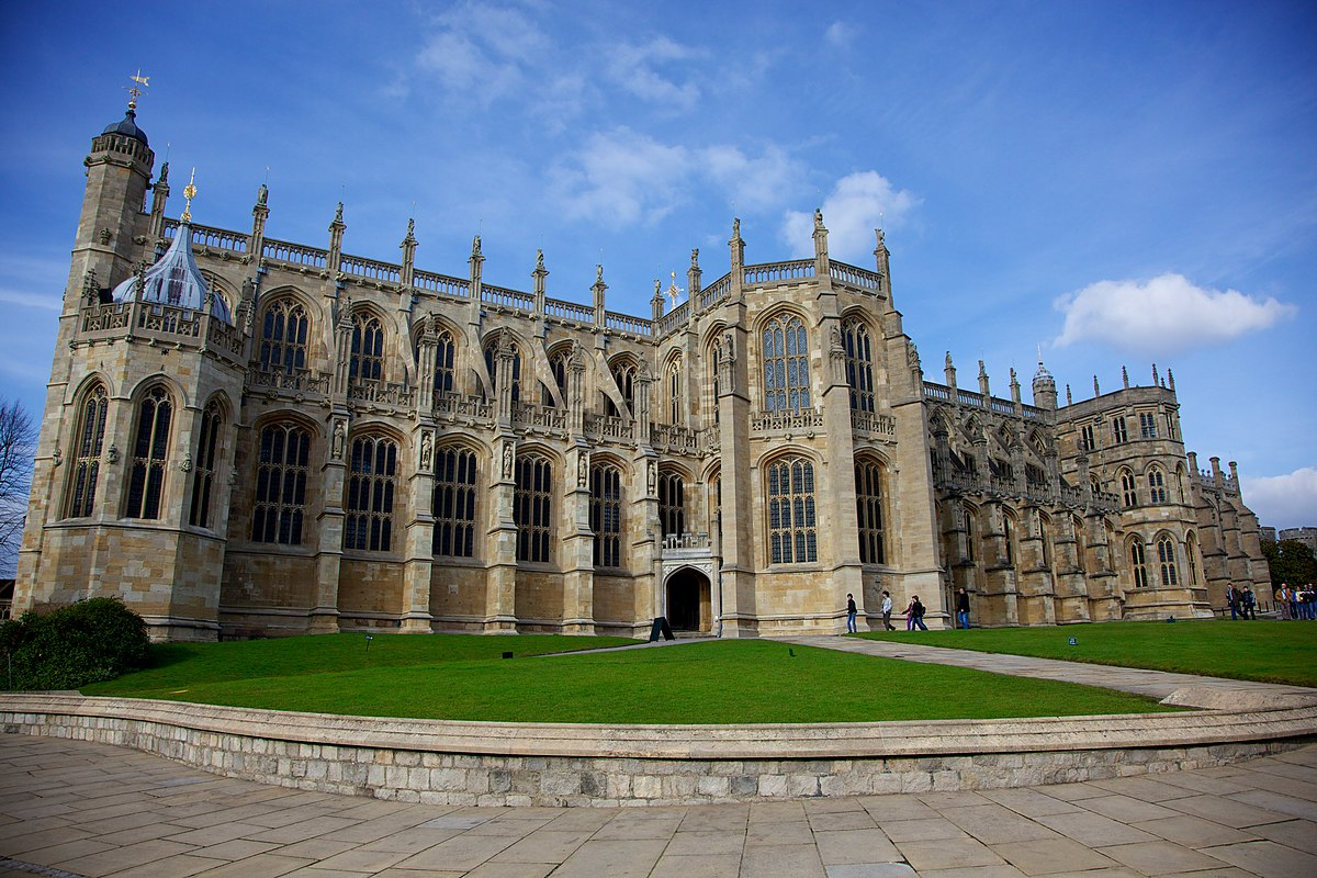 Image result for St George's Chapel at Windsor Castle.