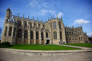 St George's Chapel, Windsor Castle - Image: St. Georges Chapel, Windsor Castle (1)