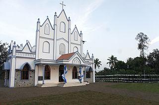 Kangazha Village in Kerala, India
