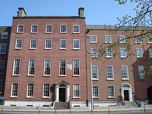St. Vincent's University Hospital - The old St. Vincent's Hospital at St. Stephen's Green set up in 1834