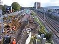 StAR railway line construction, Tottenham Hale, N17.jpg