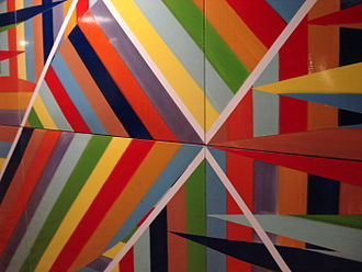 St. Clair West station - Detail of Tempo by Gordon Rayner