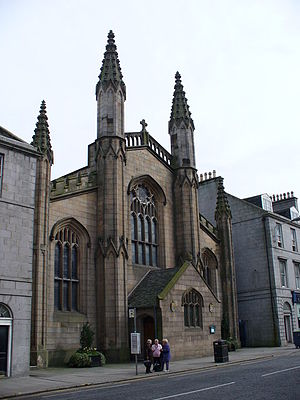Archibald Simpson - St. Andrew's Chapel, now St. Andrew's Cathedral, Aberdeen (1817)
