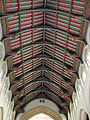 St Edmundsbury Cathedral nave roof by Evelyn Simak.jpg