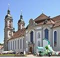 St Gallen Stiftskirche und Hüpfburg.jpg