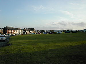 St Helens, Isle of Wight - Another view of the village from the green.