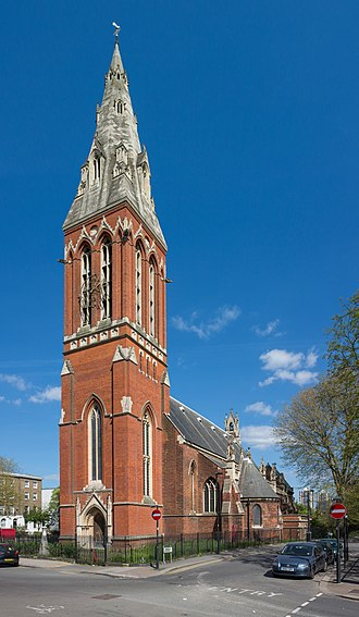 St John the Divine, Kennington - Photo of the church