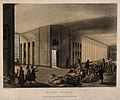 St Luke's Hospital, Cripplegate, London; the interior of the Wellcome V0013209.jpg