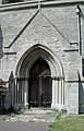St Mary the Virgin, Leighton Bromswold, Cambridgeshire - Porch - geograph.org.uk - 380820.jpg