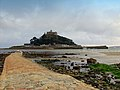St Michael's Mount viewed from the causeway at low tide - geograph.org.uk - 55923.jpg