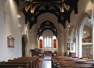St Michael's, Chenies - Interior of St Michael's