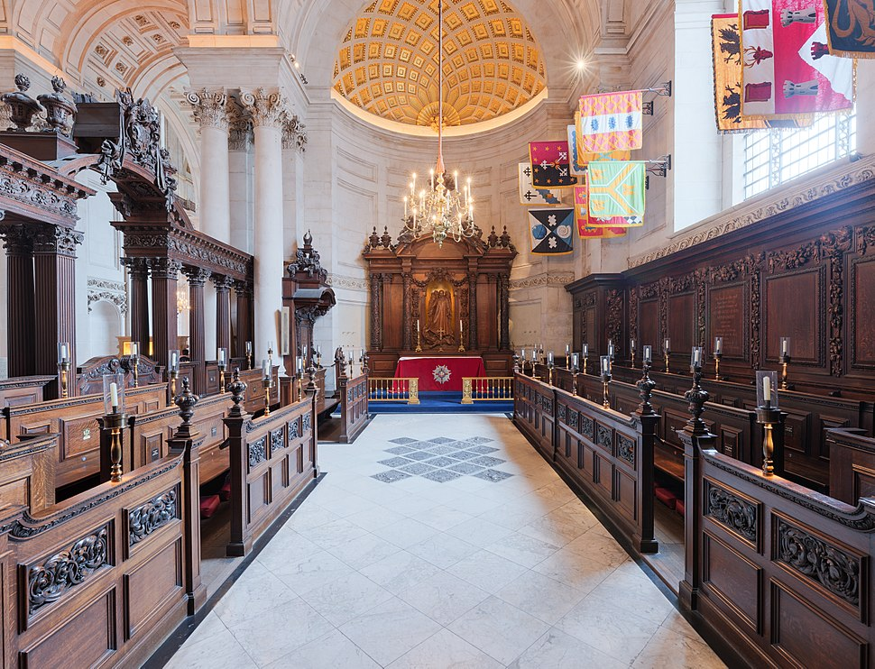 St Paul's Cathedral Chapel of St Michael & St George, London UK - Diliff