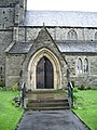 St Paul's Church, Low Moor, Clitheroe, Porch - geograph.org.uk - 788557.jpg