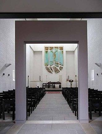 St Paul's Church, Harringay - Image: St Paul's Church Harringay interior 1