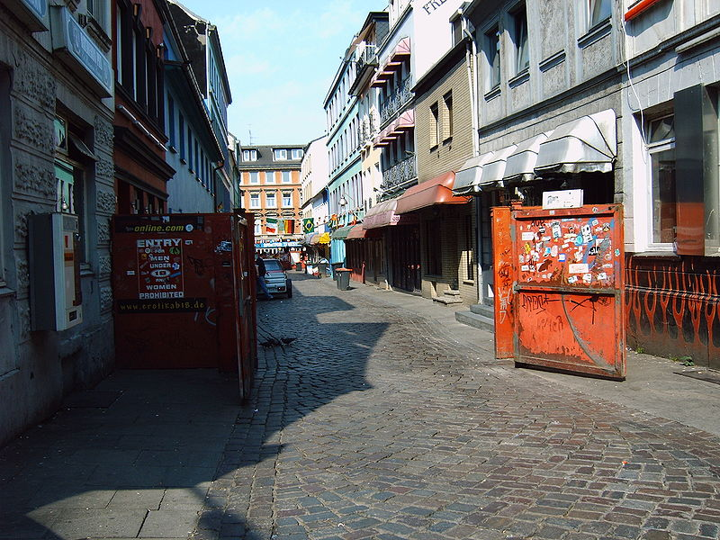 Herbertstrasse St Pauli