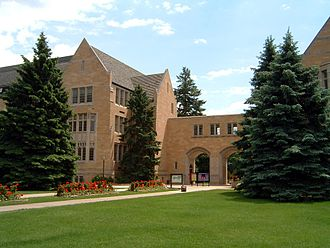 University of St. Thomas (Minnesota) - Arched entryway to the St. Paul campus