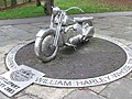 Stainless Steel Harley - geograph.org.uk - 1170179.jpg