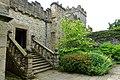 Stairway - Haddon Hall - Bakewell, Derbyshire, England - DSC02833.jpg
