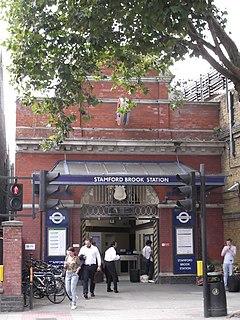 Stamford Brook tube station London Underground station