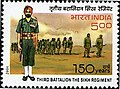 Stamp of India - 2006 - Colnect 158952 - 150 Years of Third Battalion The Sikh Regiment.jpeg